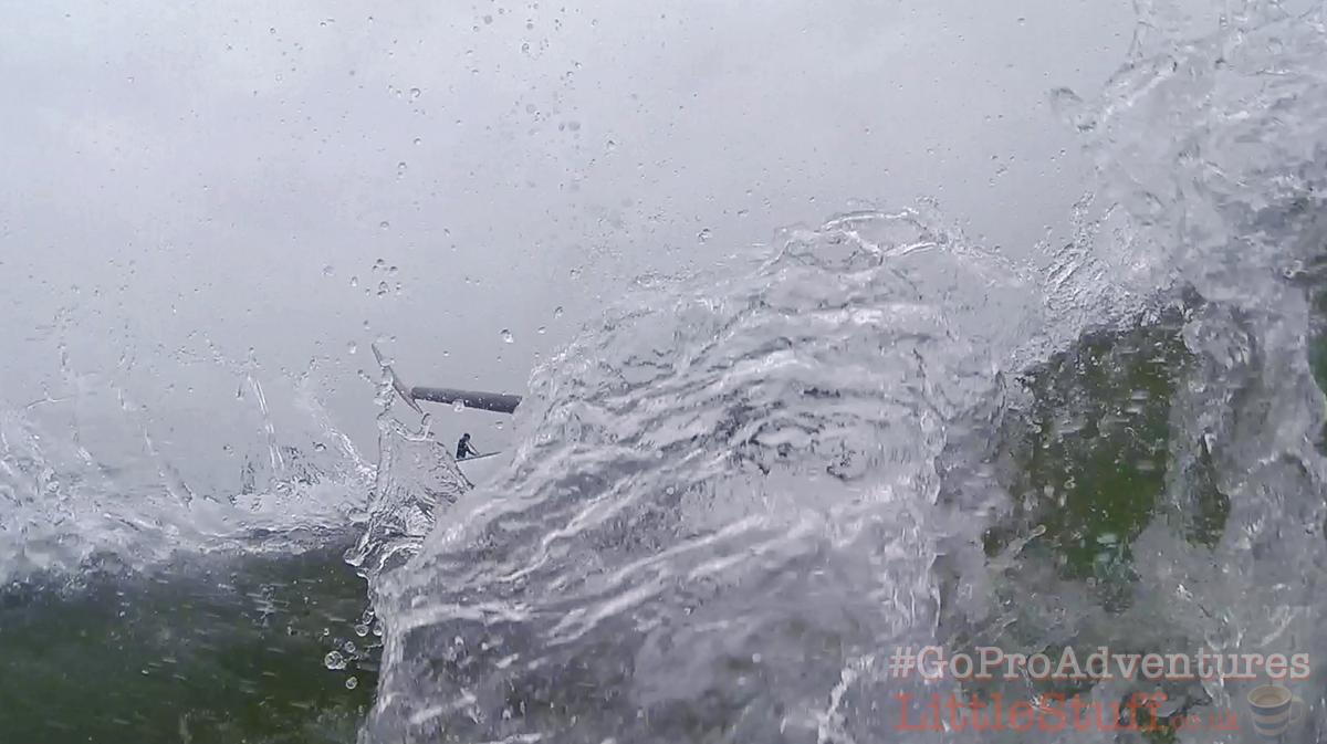 GoPro-photograph-SUP-splashing-water