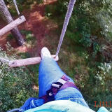Scariness at GoApe in Dorset for our #GoProAdventures