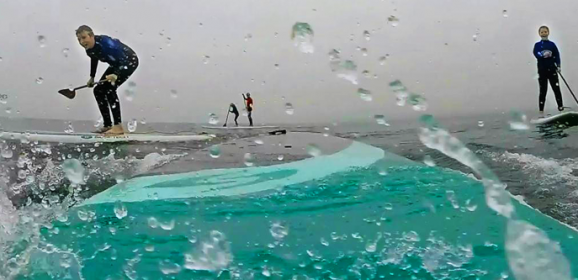 Stand Up Paddle Boarding (SUP) in Dorset for our #GoProAdventures