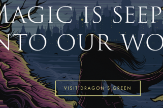 WIN 1 of 5 signed copies of Dragons Green – PLUS an advanced copy of The Chosen Ones!