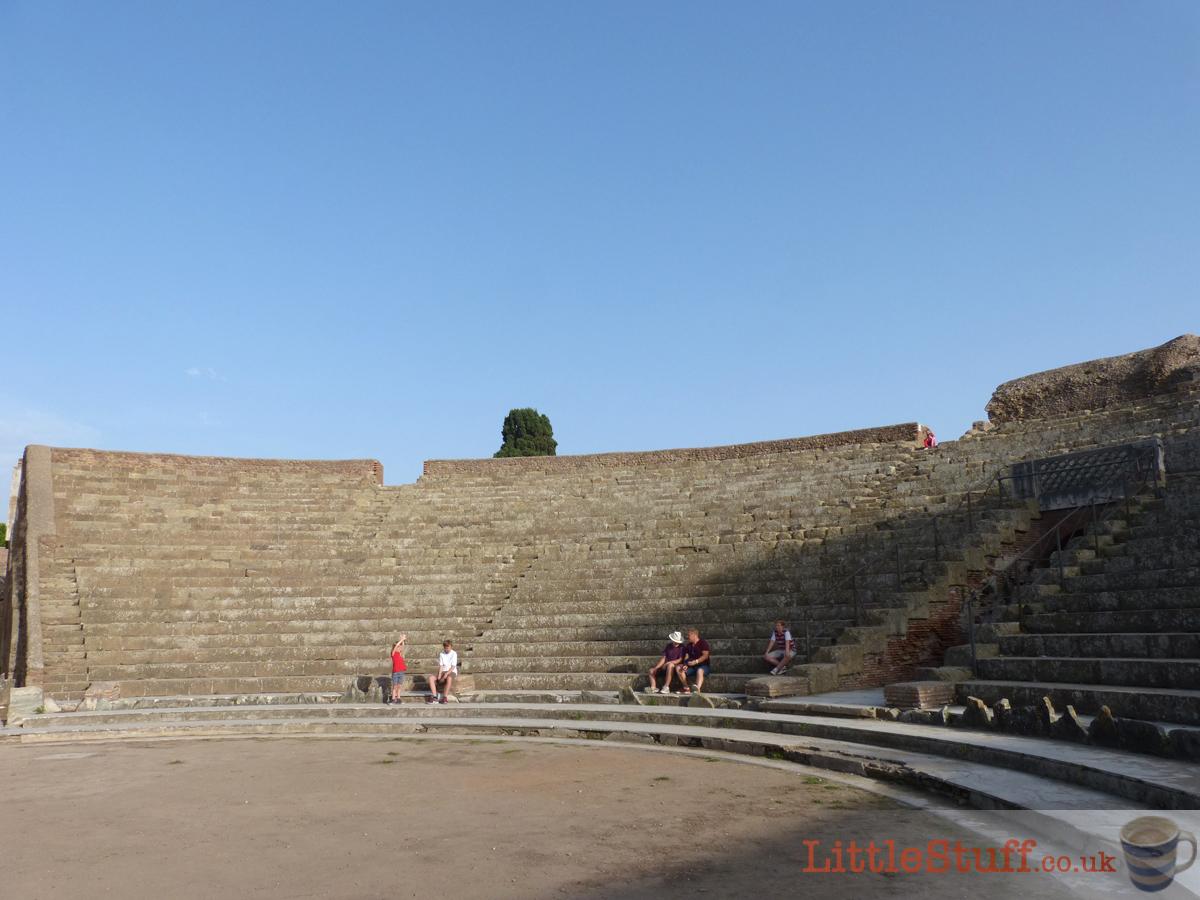 the theatre Ostia Antica