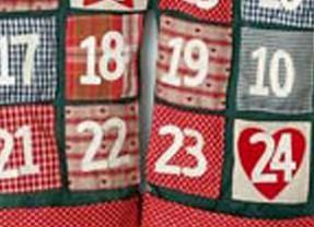 Giant Pocket Santa Advent calendar – Pre-Christmas Shopping List