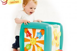 It's The Annual '12 Days of an ELC Christmas'! On the 8th Day… Win a Giant Activity Cube!