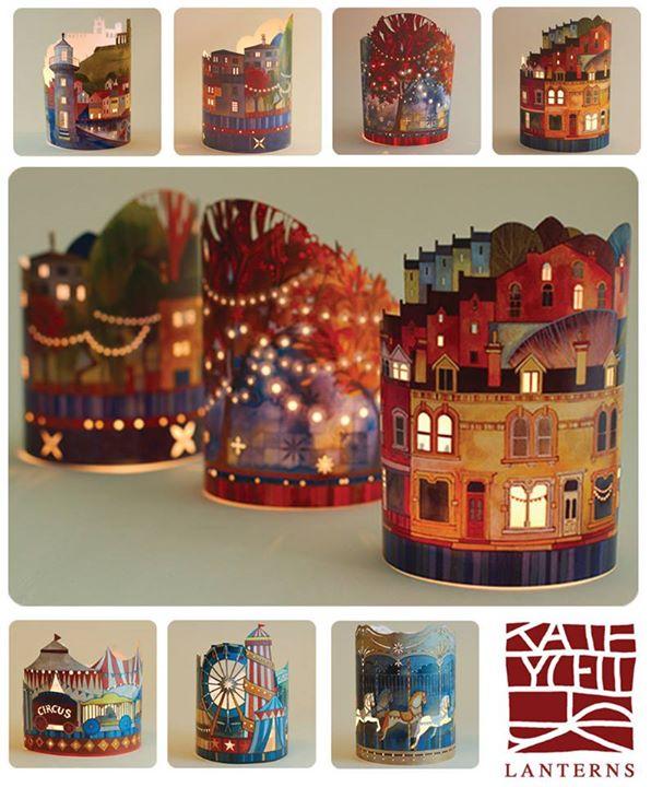 Vintage Tea Light Lanterns