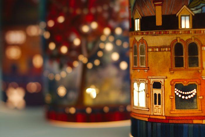 Vintage Tea Light Lanterns gift