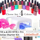 Competition Closing Alert – win a £150 NYK1 Nailac Professional Full Shellac You Choose Starter Kit!