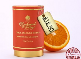 Orange Thins from Charbonnel & Walker
