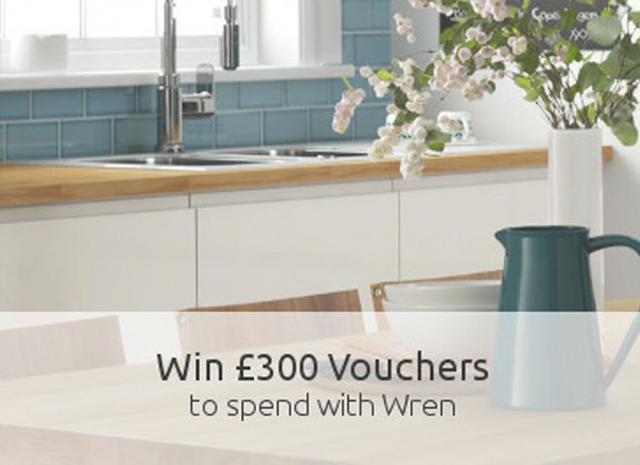 Win £300 voucher to spend at Wren Kitchens. Awesome!