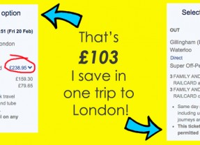 Family & Friends Railcard Discount Code   £20 – normally £30!