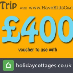 New Competition! Win a £400 Cornish Holiday Voucher with holidaycottages.co.uk