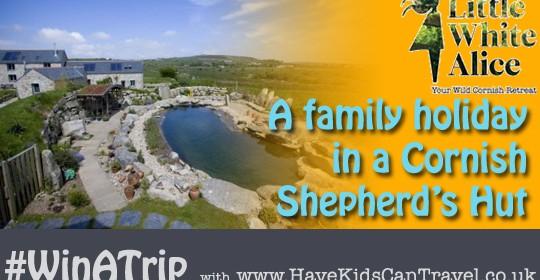 WinATrip Day 3 – Shepherd's Hut Family Holiday in Cornwall, anyone?