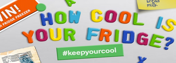 #KeepYourCool with Homebase – and win a fridge!