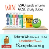 Win over £90 of Letts GCSE Study Guides #SpringIntoLearning