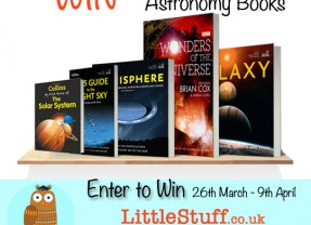 Win a fabulous £50 set of Astronomy books  #SpringIntoLearning