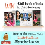 Win an inspiring £65 set of Recipe books by Ching-He Huang #SpringIntoLearning