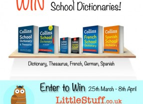 Win a complete set of Collins School Dictionaries #SpringIntoLearning
