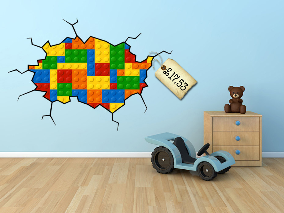 Perfect Lego Wall Decal
