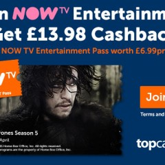 Limited offer – NOWTV free for two months. Expires SUNDAY!