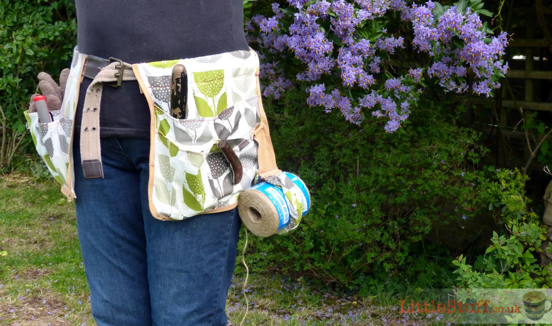 Make Your Own Garden Tool Belt Tutorial Littlestuff