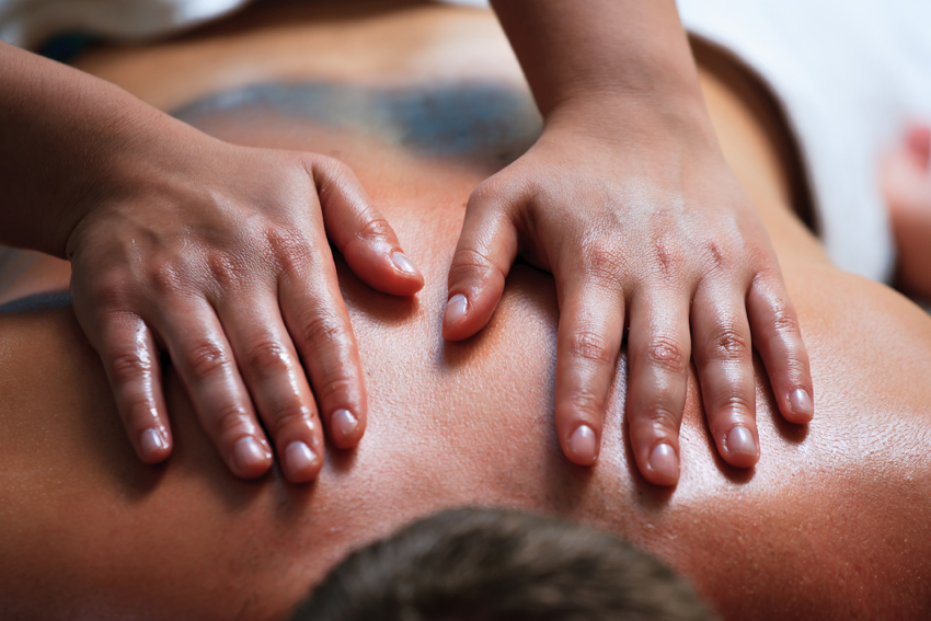 Back massage Image courtesy of Shutterstock