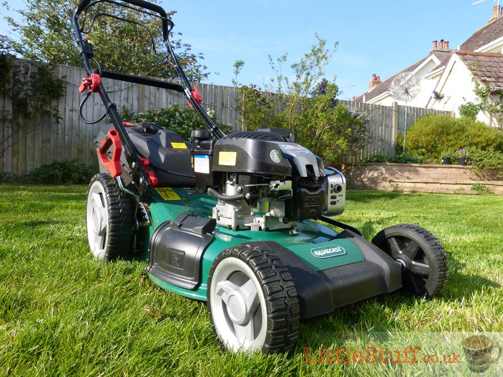 Qualcast Self Propelled Petrol Rotary Key Start Lawn Mower