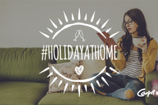 How to have fun with a #HolidayAtHome