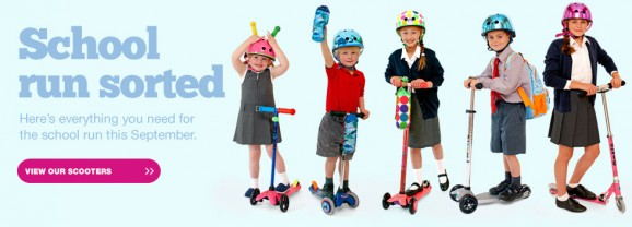 MicroScooters – perfect for the school run #BackToSchool