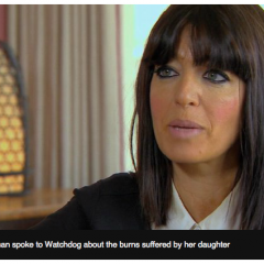 A Child On Fire, and What Sainsburys Did Next (and a huge hoorah for Claudia Winkleman)