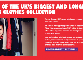 A Confession for You, TK MAXX… #GiveUpClothes