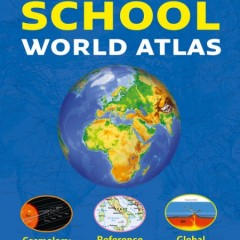 World Atlas with Collins #BackToSchoolBooks