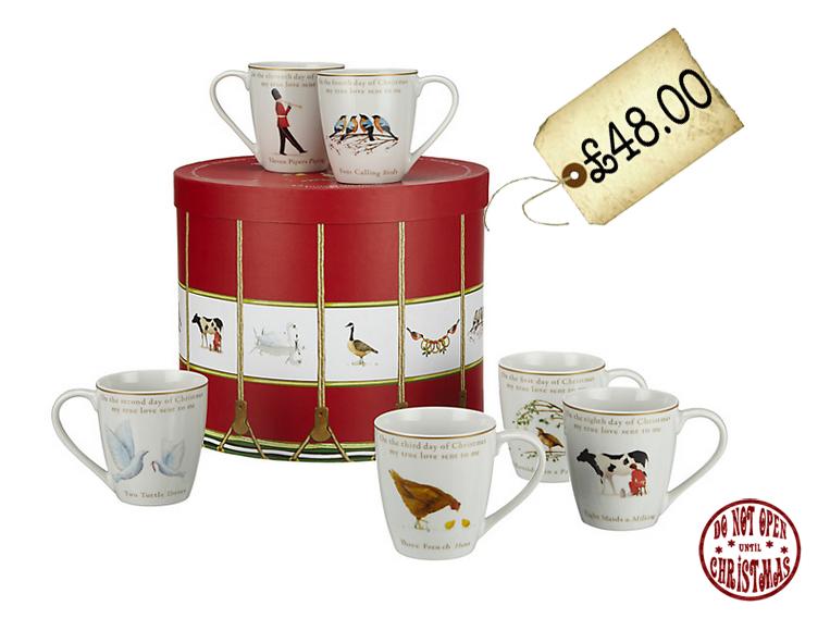 12 days of christmas mugs  sc 1 st  LittleStuff & John Lewis 12 Days of Christmas Mug Set #ChristmasGiftGuide ...