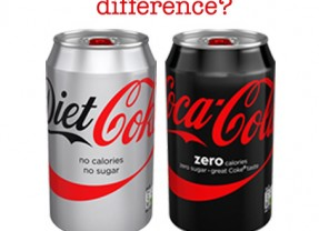 So what's the ACTUAL difference between Diet Coke and Coke Zero?