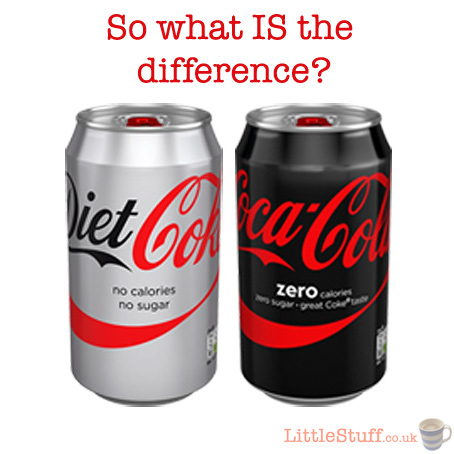 So what's the ACTUAL difference between Diet Coke and Coke ...