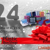 CLOSING SOON! WIN one of SEVEN £60 Plastic Box Shop vouchers! | #LittleStuff24