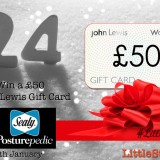 CLOSING SOON! WIN a £50 John Lewis Gift Card from Sealy | #LittleStuff24