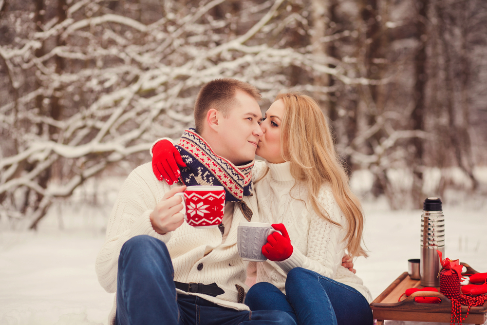 winter date night, image courtesy of Shutterstock