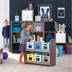 Brilliant Kids Room Storage Ideas spotted on Vertbaudet