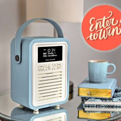 WIN! We have THREE Glorious VQ Retro Mini DAB Radio to giveaway this Easter!