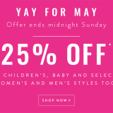 'Yay for May!' & just LOOK at these bargainous girls clothes from Joules…