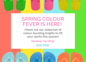 Gorgeous Spring Bright Flip Flops – are your toes out yet?