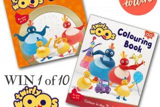 Win 1 of 10 Twirlywoos Book Bundles