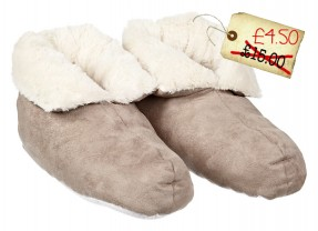 Fabulous Duvet Slippers (yes really) under £5!