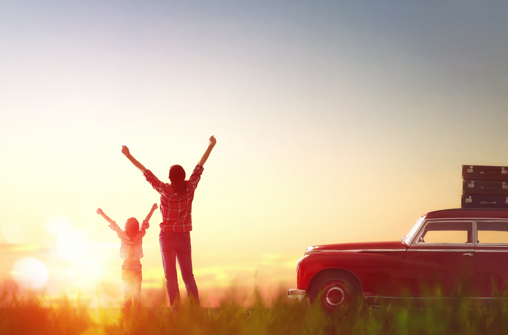 Family Road Trip image courtesy of Shutterstock