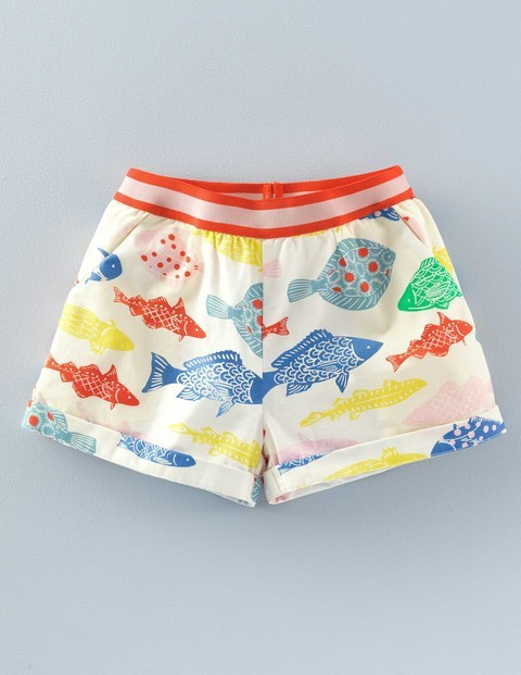 retro 50s shorts for girls