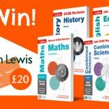 Win A Complete GCSE bundle plus £20 voucher in Day 5 of #BackToSchoolBooks