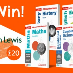 Win A Complete GCSE bundle plus £20 voucher in Day 5 of #BackToSchoolBooks