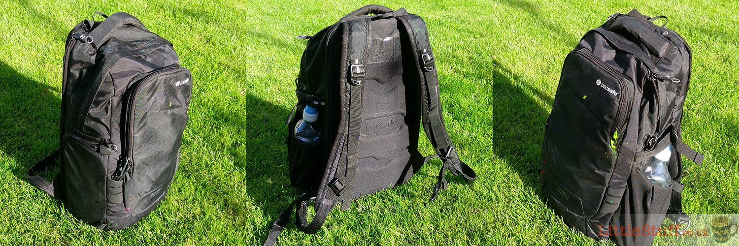 camsafe V17 camera bag review