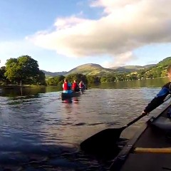 Moonlit Canoeing on Windermere