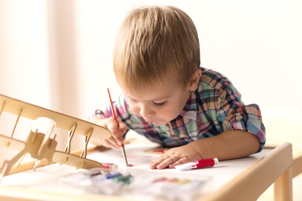 small boy enjoying nursery image courtesy of shutterstock