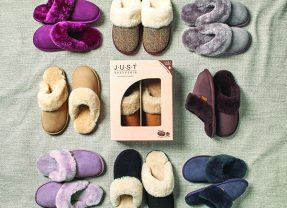 Win 1 of 3 pairs of Just Sheepskin slippers – worth up to £85!
